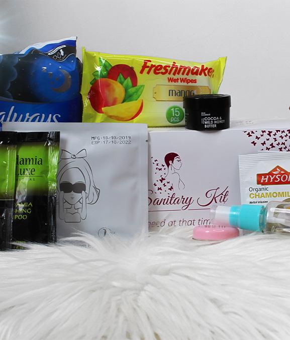 the sanitary kit