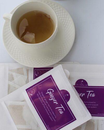 the sanitary kit ginger tea