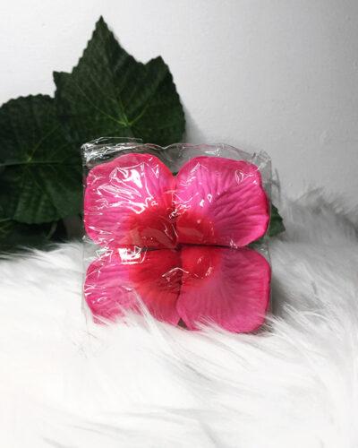pink artificial rose petals