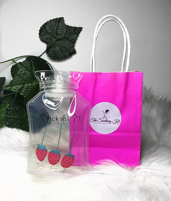 Hot water bottle - the sanitary kit