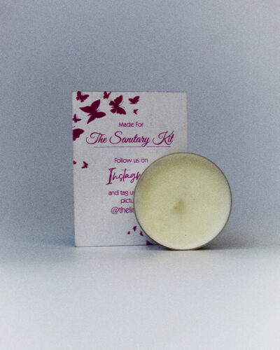 The Sanitary Kit Ghana - Scented Candle