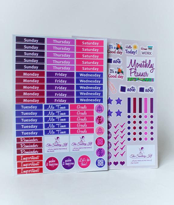 Monthly Planner Sticker